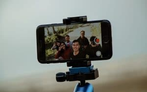 iphone video tripod